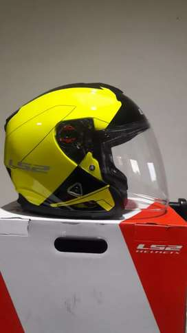 Helm LS2 OF521 Infinity Beyond HI VIS Yellow