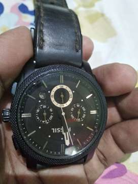 Fossil FS4656 Analog watch brown dial.