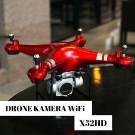 Drone X52HD Kembaran DJI Phantom Altitude Hold 2MP WiFi Camera