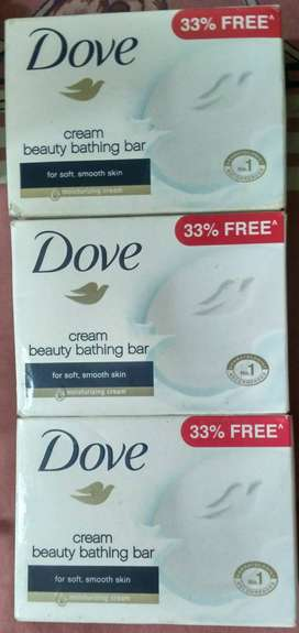 Dove Soap @₹40 only( MRP-₹49)