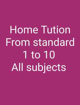 For home tution