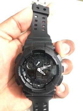 Casio G-Shock Analog-Digital Black Dial Men's