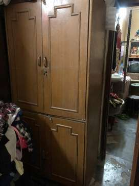 Wooden Almirah in Good condition