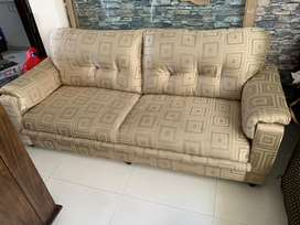 3+1+1 fabric sofa set with loose cover