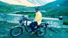 honda 125 luch condition