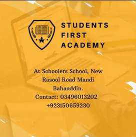 Student first academy