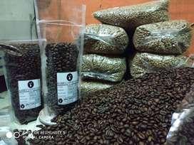 kopi robusta temanggung greenbean roastbean powder berkualitas