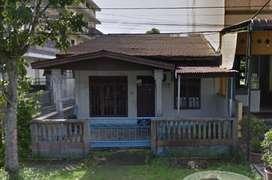 Dijual cepat tanah dan rumah, lokasi strategis ditengah Kota Sibolga