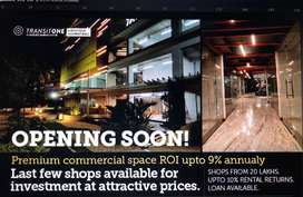 Ready rental shops available for sale