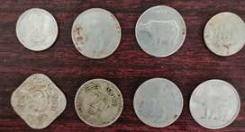Old money coins