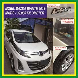 Mobil 30rb Km Mazda Biante 2013 Murah Matic Kilometer Second Bekas