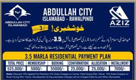 Plots avilable in Abdullah city near new airporta