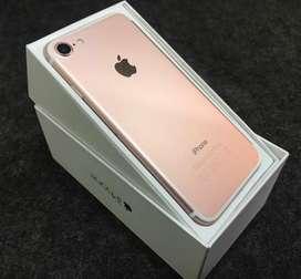 iphone 7 32gb rosegold fullset ori