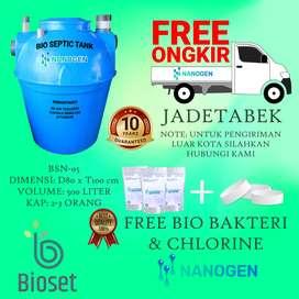 septic tank nanogen- anti bocor dan moderen