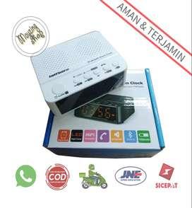 BC-01 Jam Alarm Dengan Speaker Bluetooth