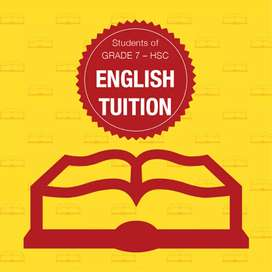English subject home tutor for matric and inter classes.