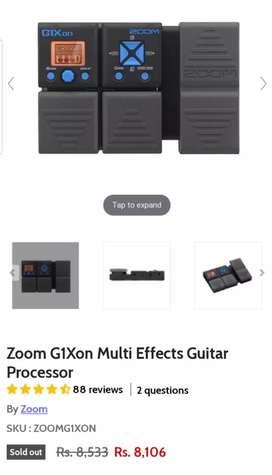 Zoom g1xon in brand new condition