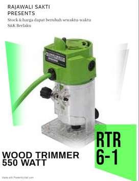 RYU RTR 6 1 Mesin Profil Kayu Mini Router RTR6 Wood Trimmer BY TEKIRO