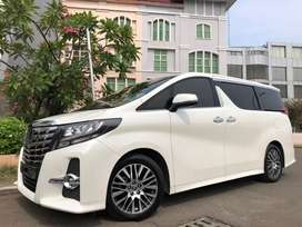 Alphard 2.5 SC Premium Sound Heater 2016 White On Black Audio JBL 4Cam