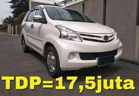 Daihatsu Xenia X 1300cc Putih Mulus! Bisa Kredit TDP=17,5juta