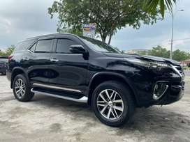 Toyota Fortuner VRZ 4x2 AT Diesel 2017 Hitam Metalik