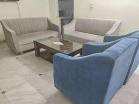 8 Seater Sofa Set with Centre Table