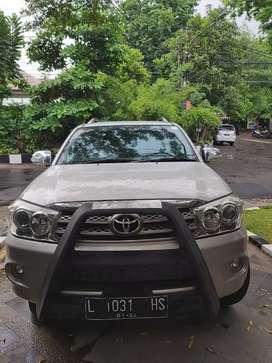 Dijual Mobil Toyota Fortuner 2.5 G MT