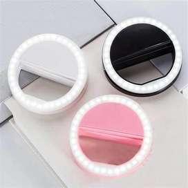 Iring Selfie light Led Lampu Selfie Model Ring Cincin