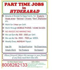 WORK FOR ONLY 7,10,I.TI,DIPLOMA,DEGREE CANDIATES