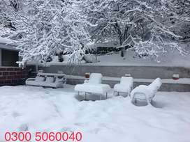 Enjoy snow and weather of murree in cottage with all facilities.
