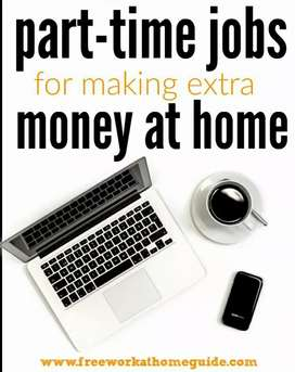 Simple work from home income per hour 100 -- 1000rs.