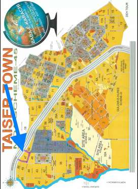 Taiser Town Sector 25 phase 2 120 SquareYards plot for Sale