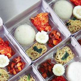 Nasi kotak ayam bakar nasi box katering