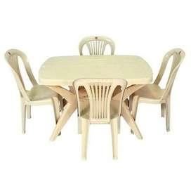 Cello Senator Dining Table for 4