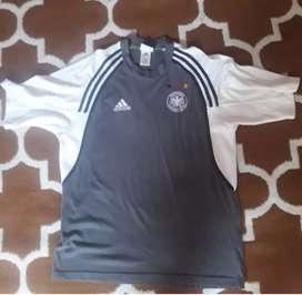 T shirt/kaos jersey jerman (vintage)