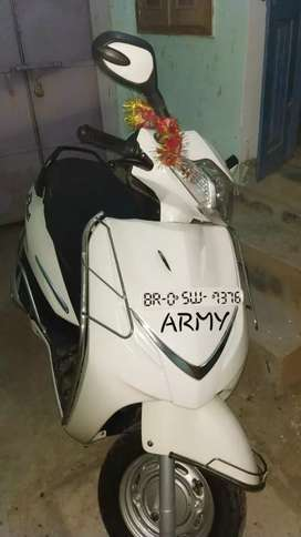 New brand scooty showroom condition