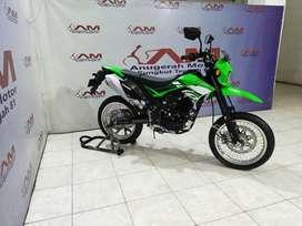 KLX D-Tracker 150cc tahun 2020 hijau