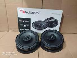 Speaker Coaksial Nakamichi seri NSE-1617 400What 2way Audio Mobil
