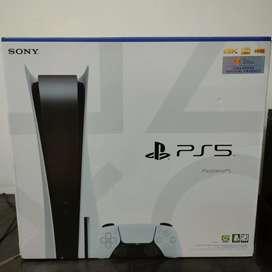 PS5 Disc Edition Like new, hanya beberapa kali pakai saja, BNOB