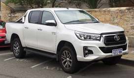 Toyota Hilux 2019 Get On 20% Advance Down Payment