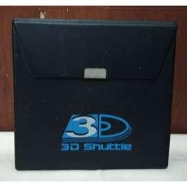 Alpine 3D Shuttle Original Penyimpan Disk / Disc Storage