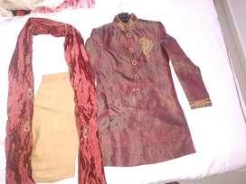 Wedding Shervani size 40