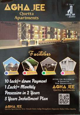 Agha Jee Quetta Apartments Jinnah Town for sale