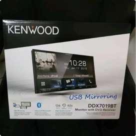 Kenwood DDX 7019BT mirrorlink 2din Kenwood garansi usb mirroring