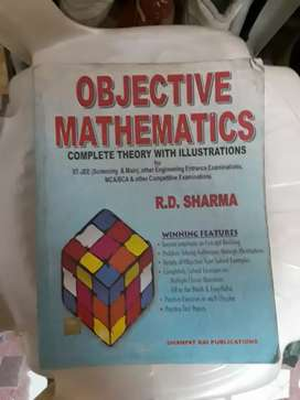IITjee RD sharma objective mathematics