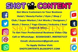 Get More Customers to your Business by creating a Short Video Clip