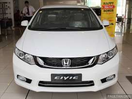 Honda Civic 2014 on easy monthly installments