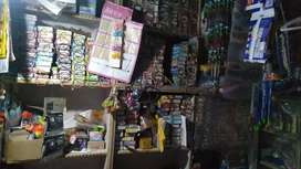 For selling my cosmetic shop with furniture n material
