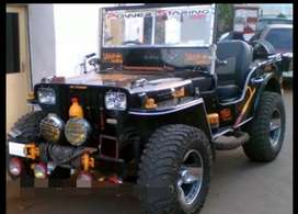 Classic modified jeep