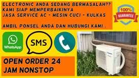 Service AC Tidak Dingin Servis Mesin Cuci Kulkas Tandes Surabaya